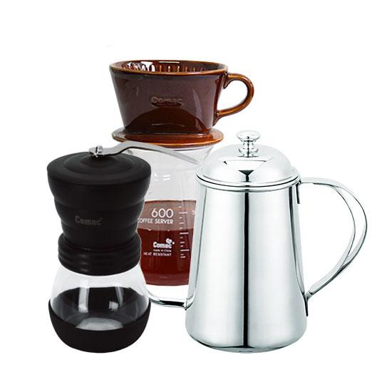 코맥 커피 핸드드립 3종세트 MG1-K1-DN4, 혼합색상, 1세트