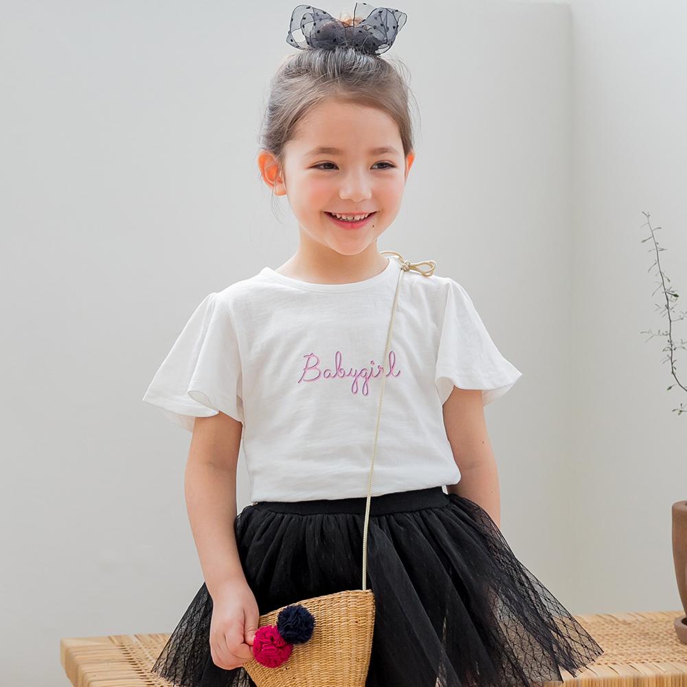 릴리푸리 여아용 엔젤 베베 티셔츠