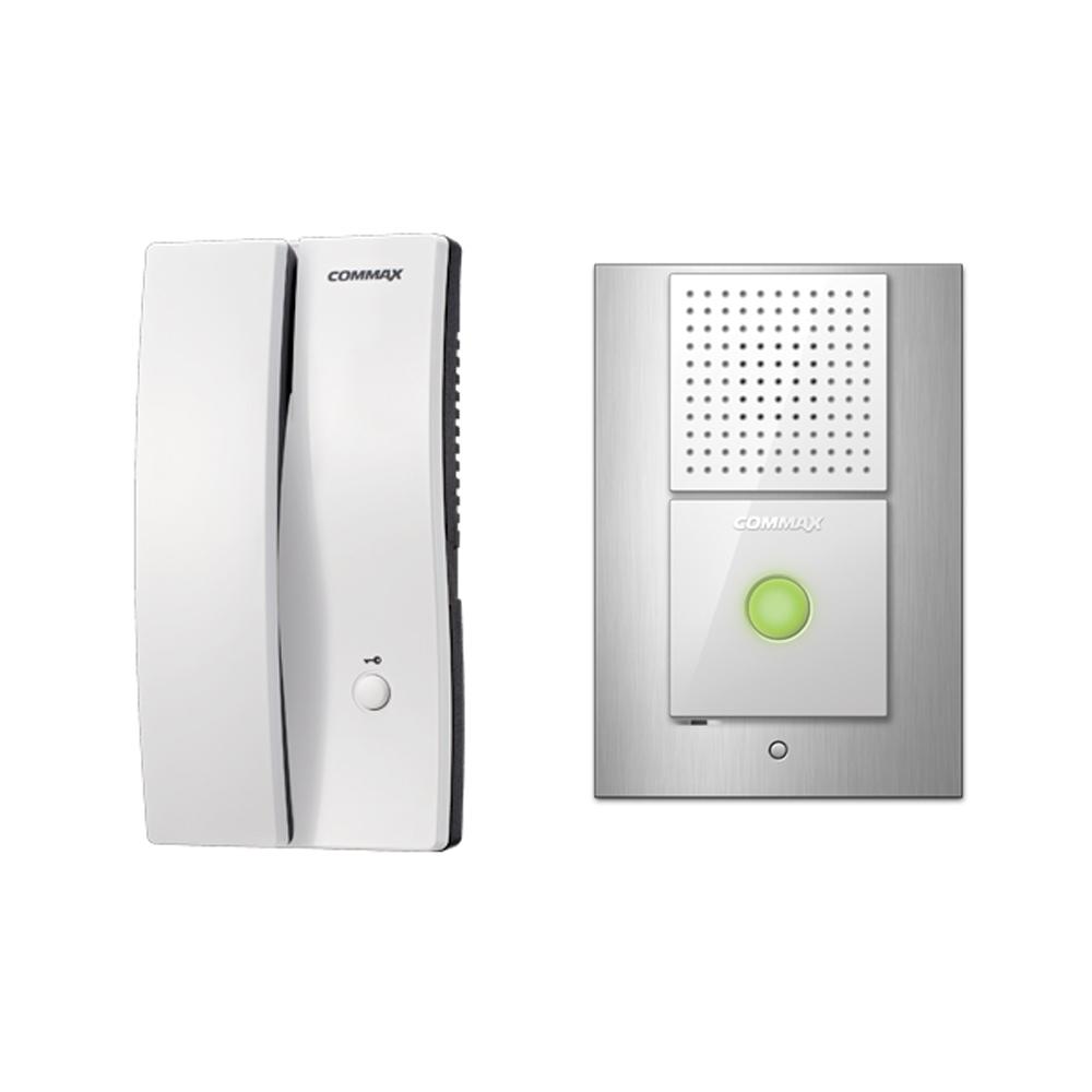 COMMAX 주택용 인터폰 DP-2S + 현관벨 DR-2L 세트, DP-2S(인터폰), DR-2L(현관벨)