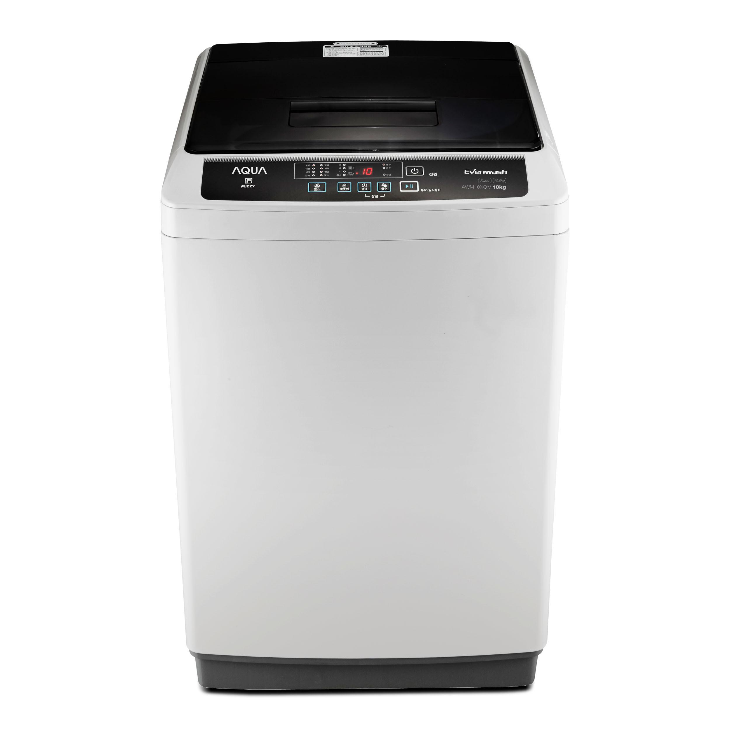 하이얼 소형 일반 통돌이 세탁기 다이아몬드 화이트 AWM10XQM 10kg 방문설치