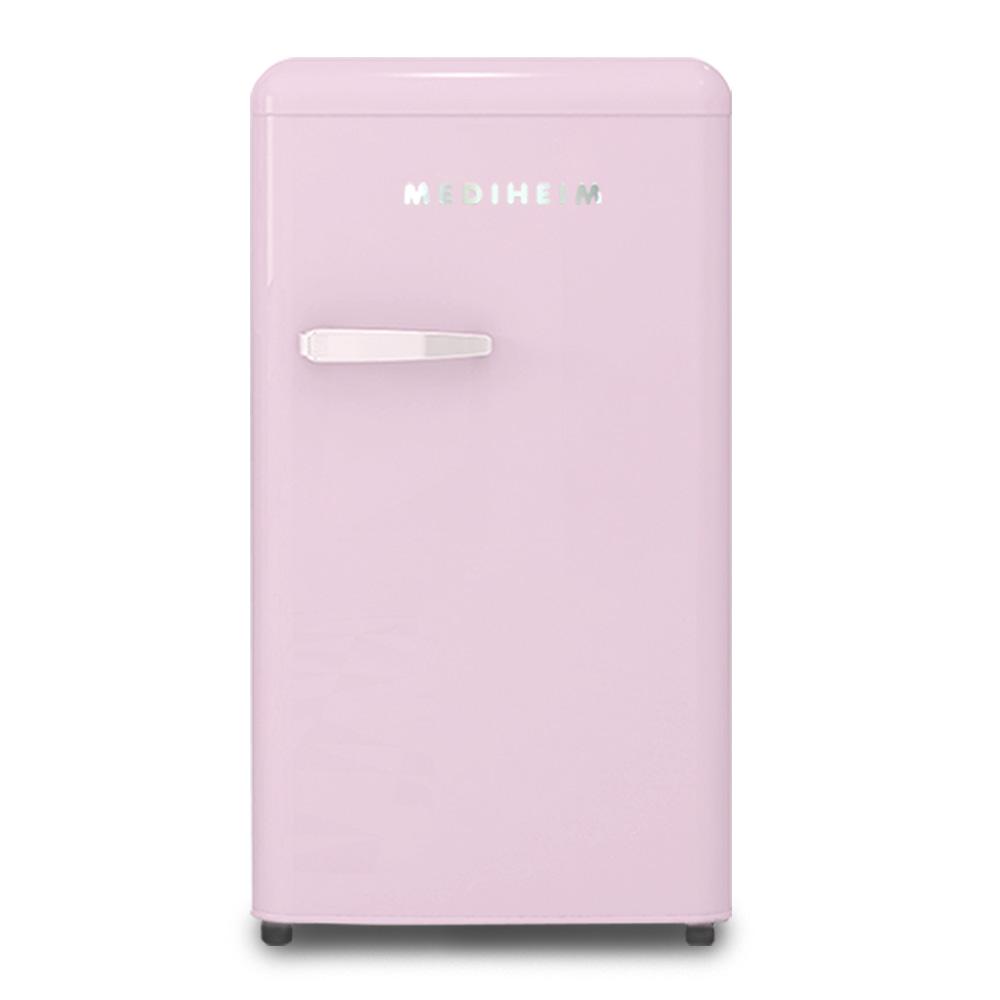메디하임 소형냉장고 핑크 90L 방문설치, MRF-96LH