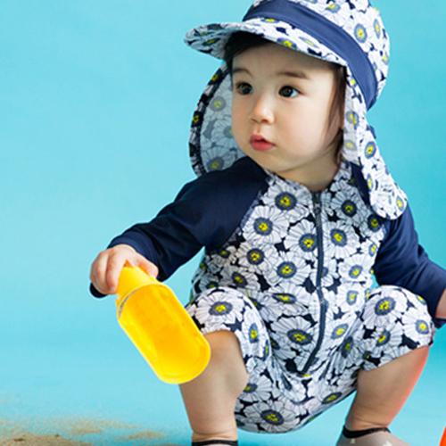 배냇베이비 아동용 디망쉬 우주복 수영복