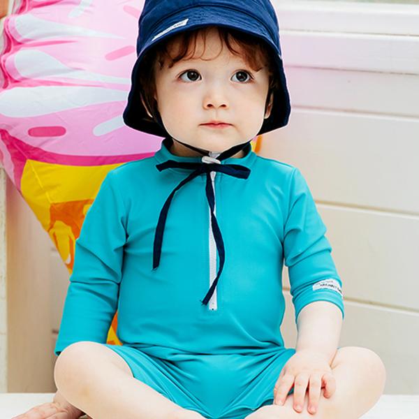 배냇베이비 유아용 펀 우주복 수영복