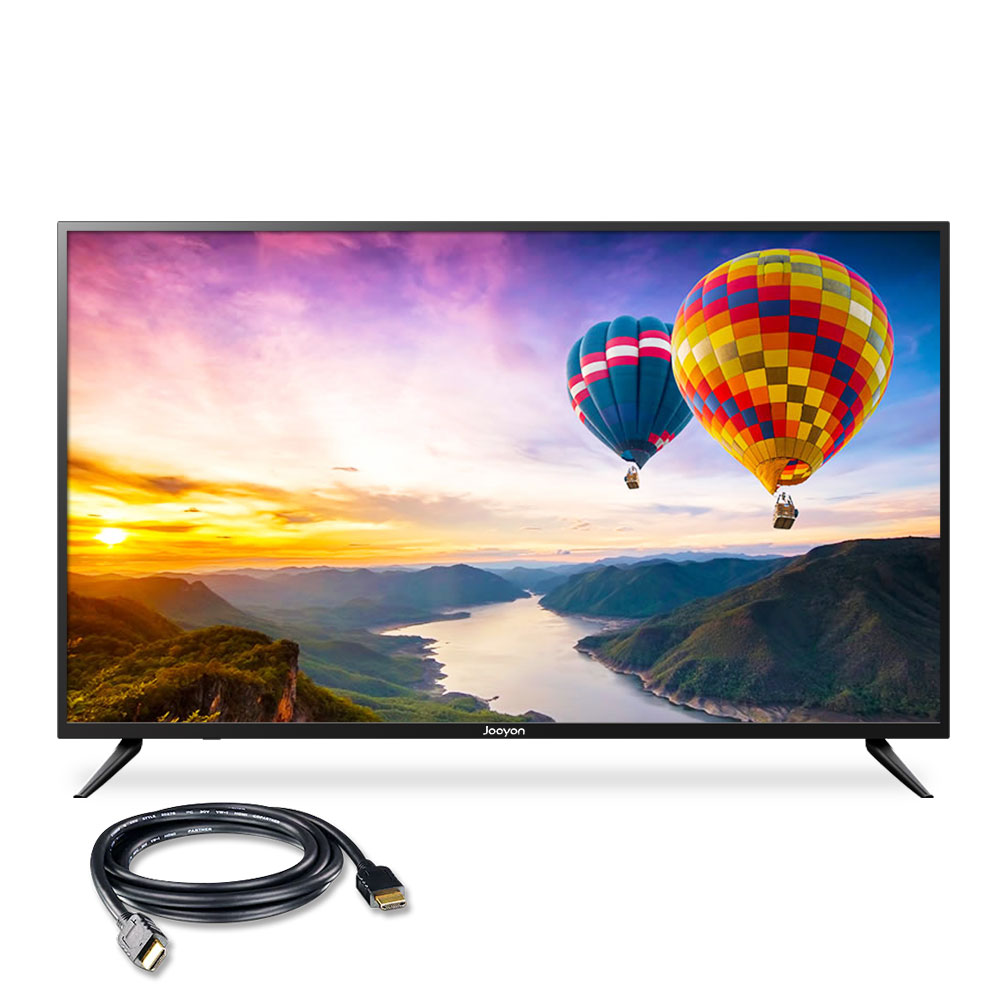 주연테크 UHD IPS 139cm 무결점 퍼펙트 에디션 HDR TV J55UHD-D3, 스탠드형, 방문설치