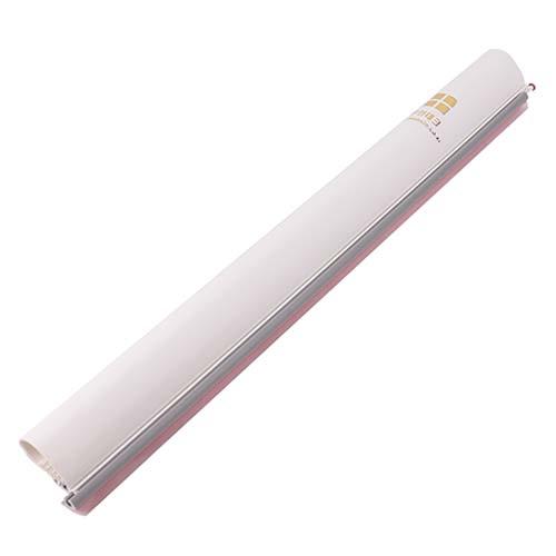 문인테크 손끼임 방지 측면보호대 기본형 2020mm + 쫄대, 백색, 1세트