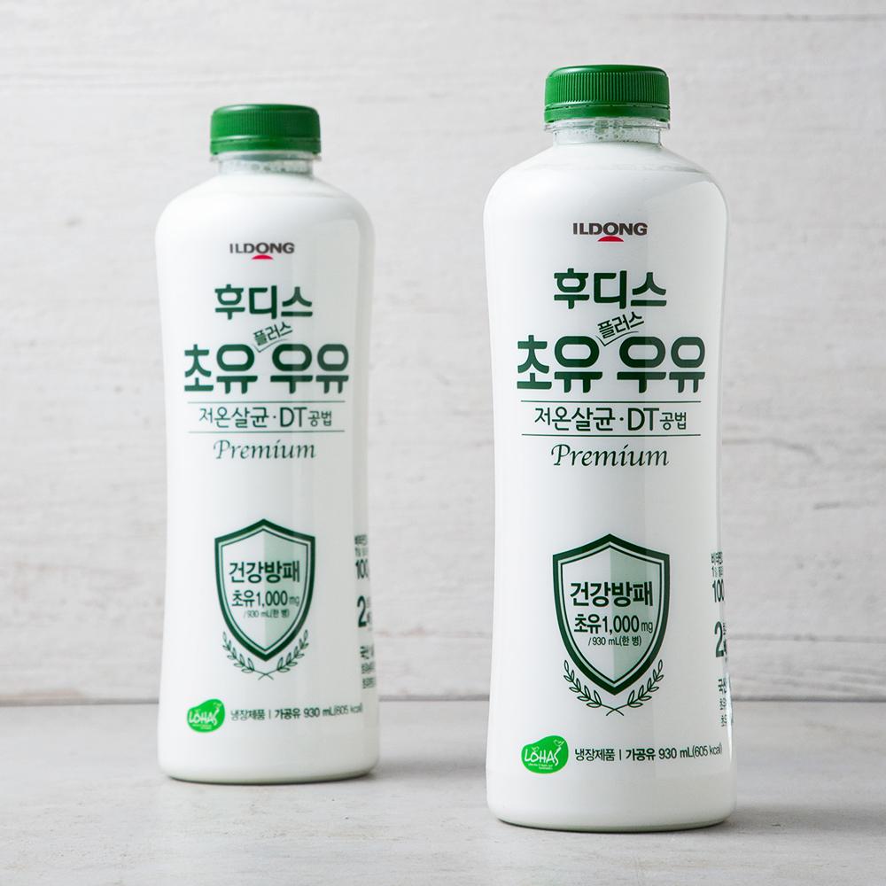 일동후디스 초유플러스 우유, 930ml, 2개
