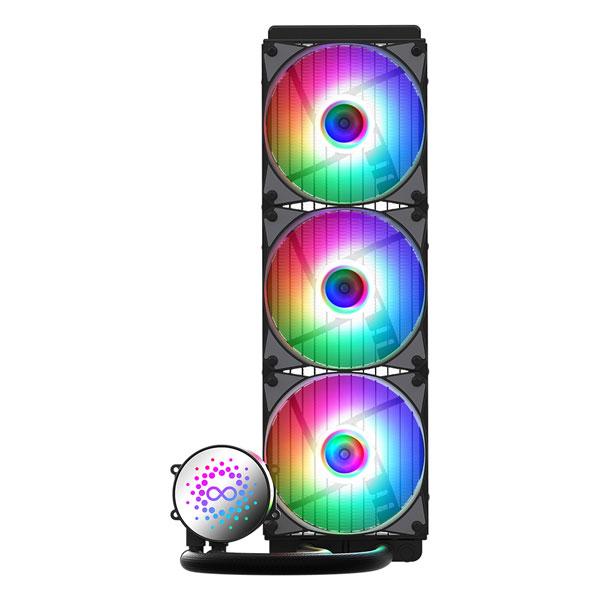 쿨맥스 AID W360-aRGB PWM CPU 수냉쿨러 120mm x 3ea + RGB SYNC CABLE 세트