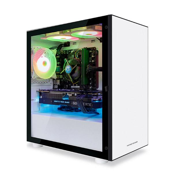 한성컴퓨터 게이밍 데스크탑 TFG MX3566X 화이트 (AMD 라이젠 R5 3500X WIN미포함 16GB SSD 240GB GTX1660 SUPER), 기본형