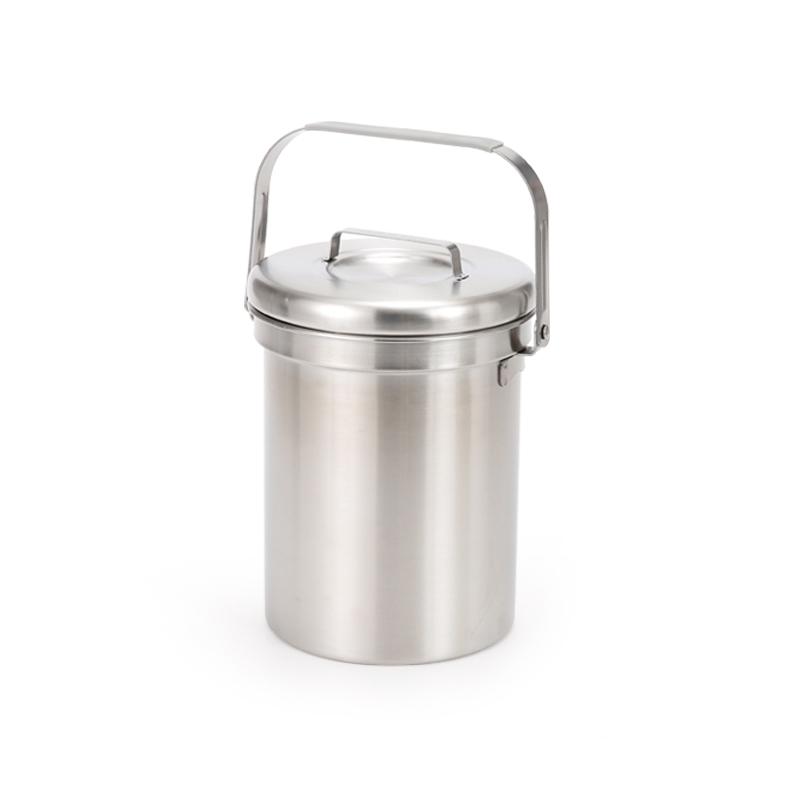 프리미엄 304 스텐 음식물 쓰레기통 일반형 2900ml