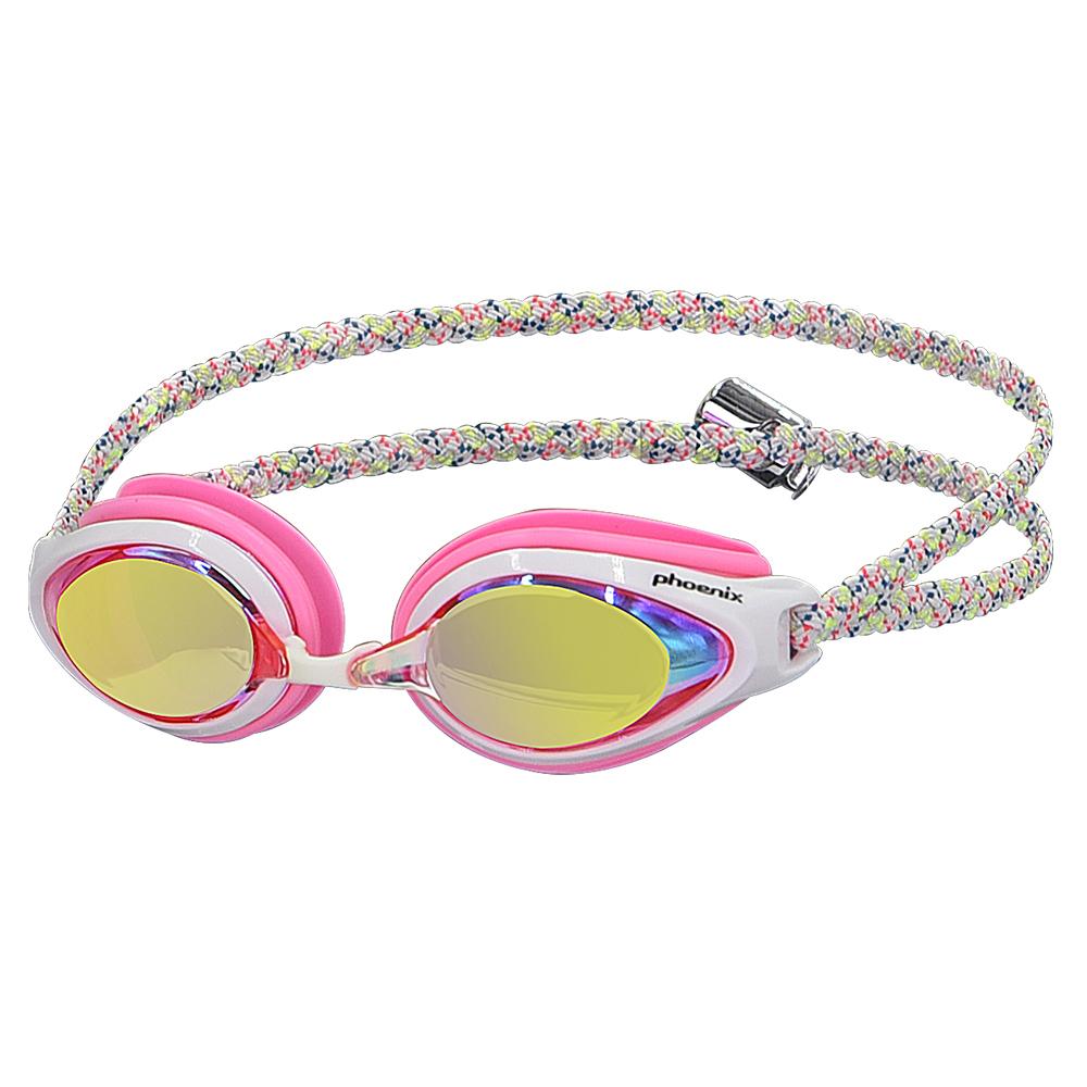 피닉스 아동 미러 패브릭 수경 PN-503JM FB, Pink