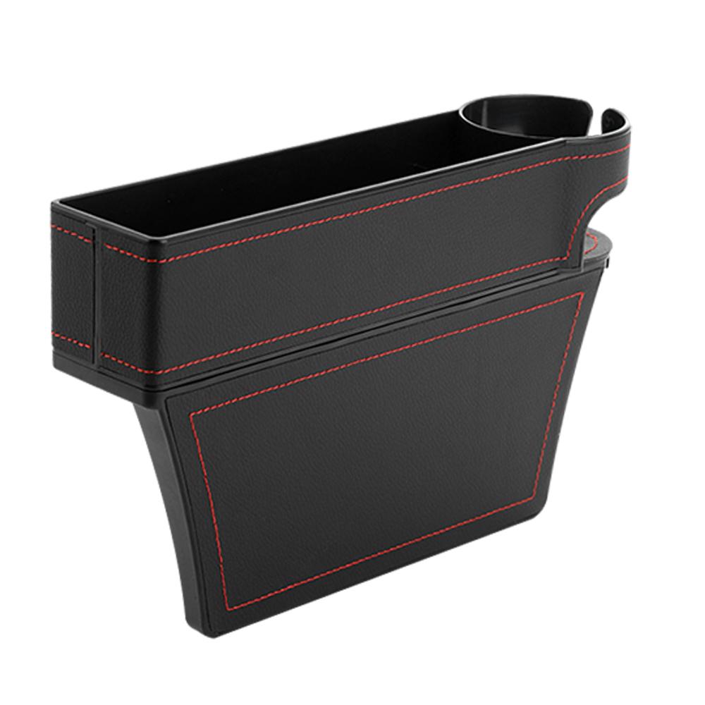 메이텍 차량용 사이드 포켓 컵홀더 블랙 MT-AT004, 1개