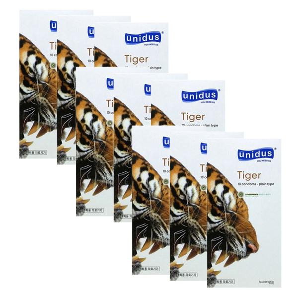유니더스 타이거 콘돔, 10개입, 9개