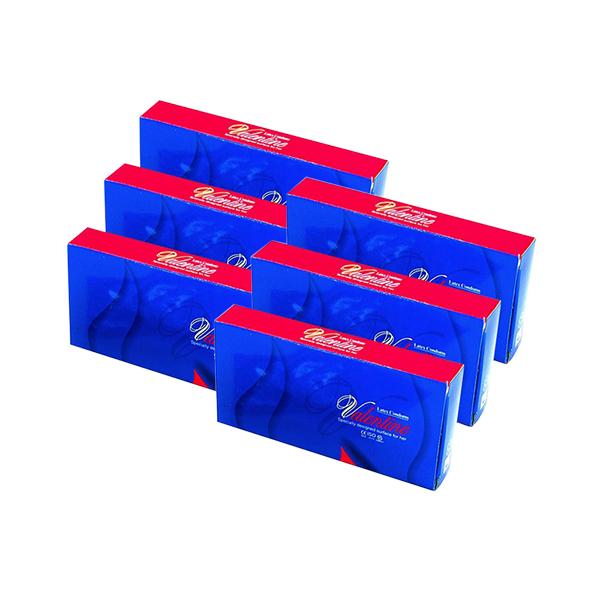 발렌타인 콘돔 0.015mm 극초박형, 10개입, 6개