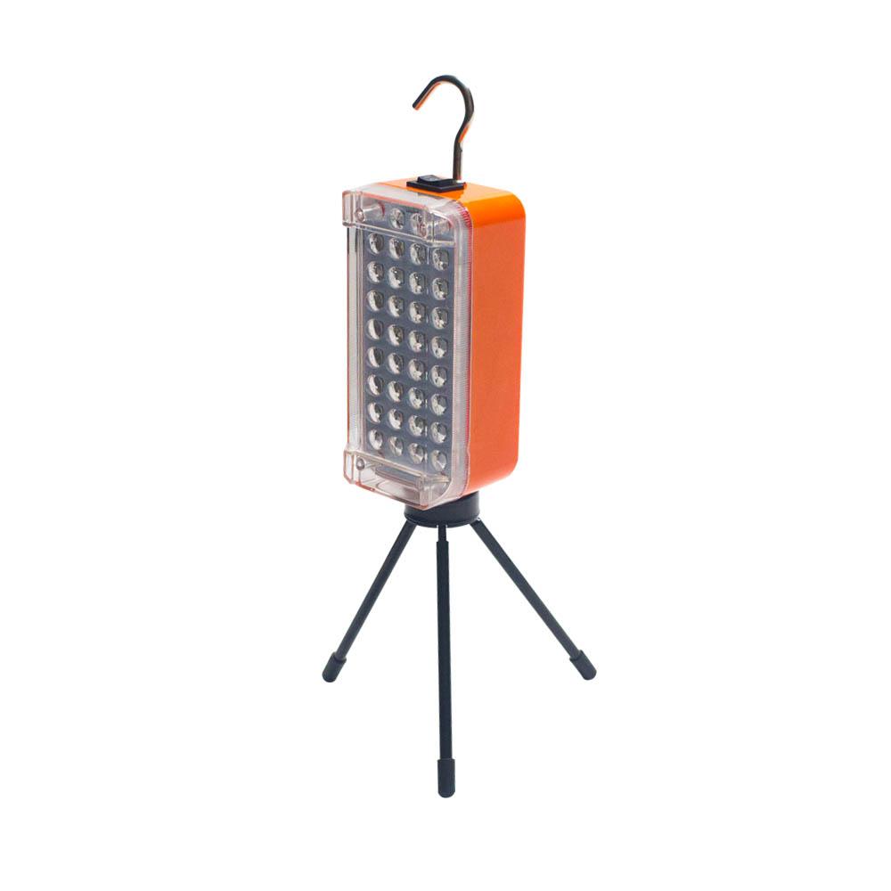 34구 LED 미니 삼각 받침 작업등 RAK-T1B, 1개