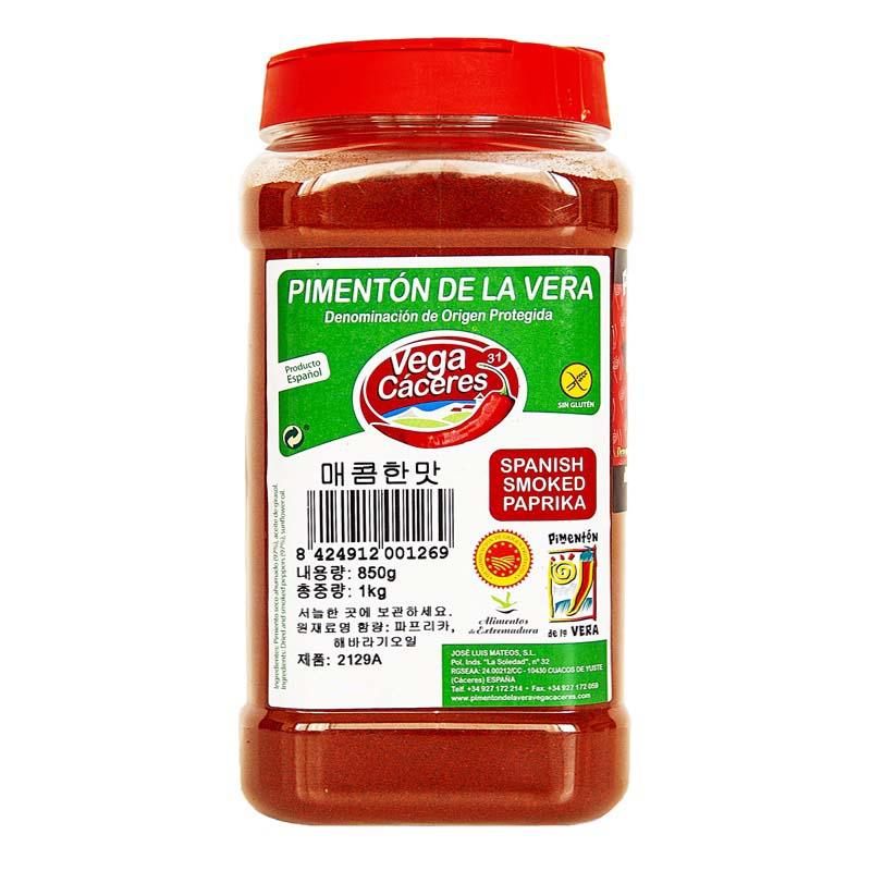 베가카세레스 훈제파프리카 향신료 매운맛, 850g, 1개