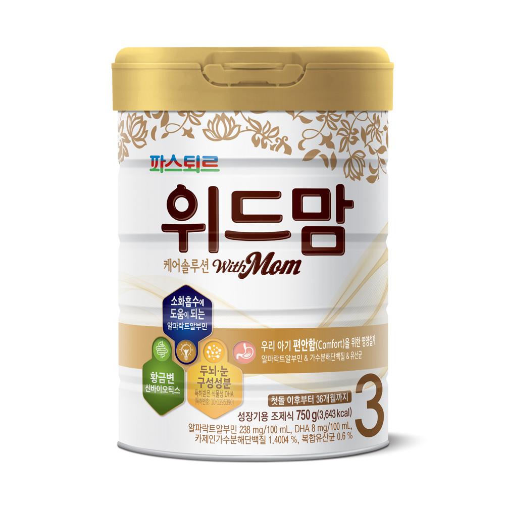 위드맘 케어 솔루션 분유 3단계, 750g, 1개