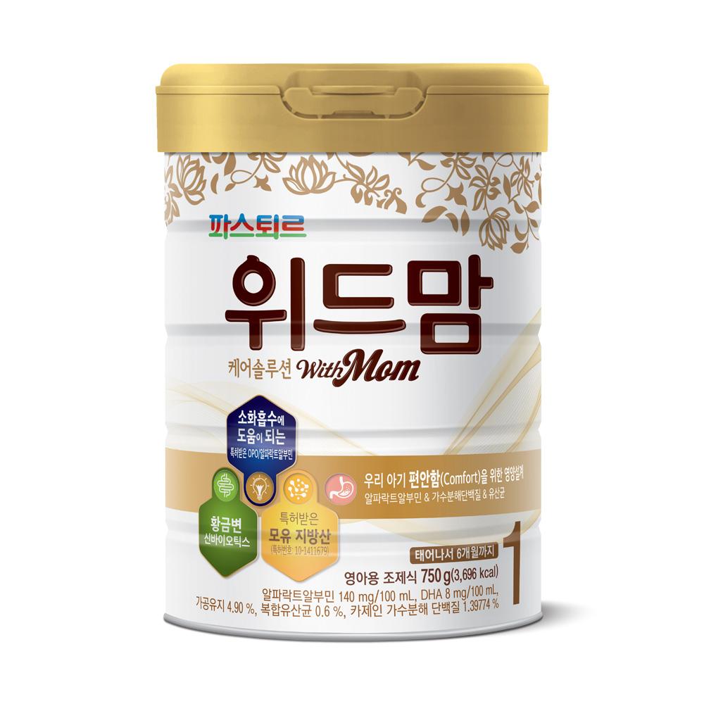 위드맘 케어 솔루션 분유 1단계, 750g, 1개