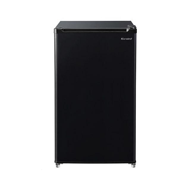 캐리어 클라윈드 1도어 슬림형 소형 냉장고 93L 방문설치 블랙, CRF-TD093BSA