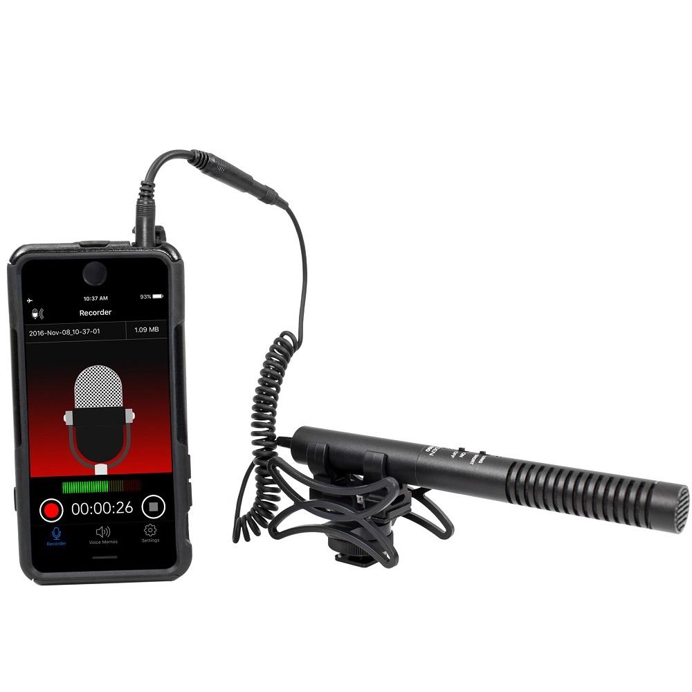아즈덴 샷건 줌마이크 스마트폰 호환 블랙, SGM-990+i