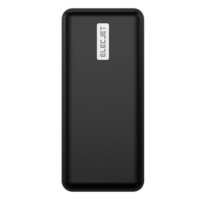 ELECJET 파워파이 20000mAh 45W PD 보조배터리, P20K, 블랙