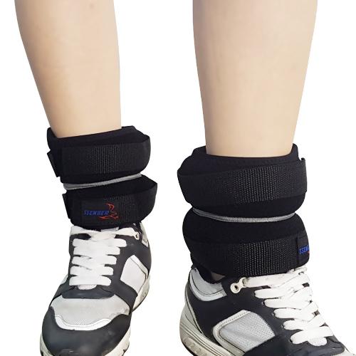 쎈버 발목 중량 헬스 웨이트 벨트 2p + 파우치 세트, 6kg