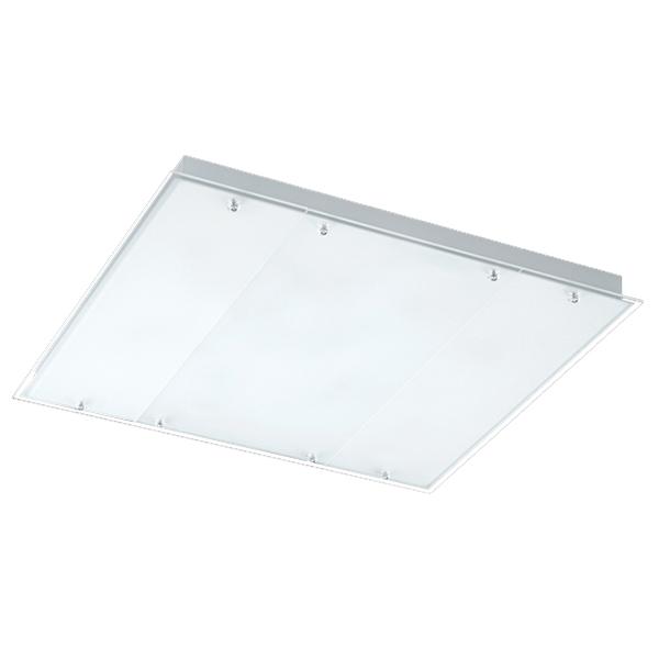 55W 4등 대체용 LG칩 LED 유리 무테 거실등 100W, 주광색