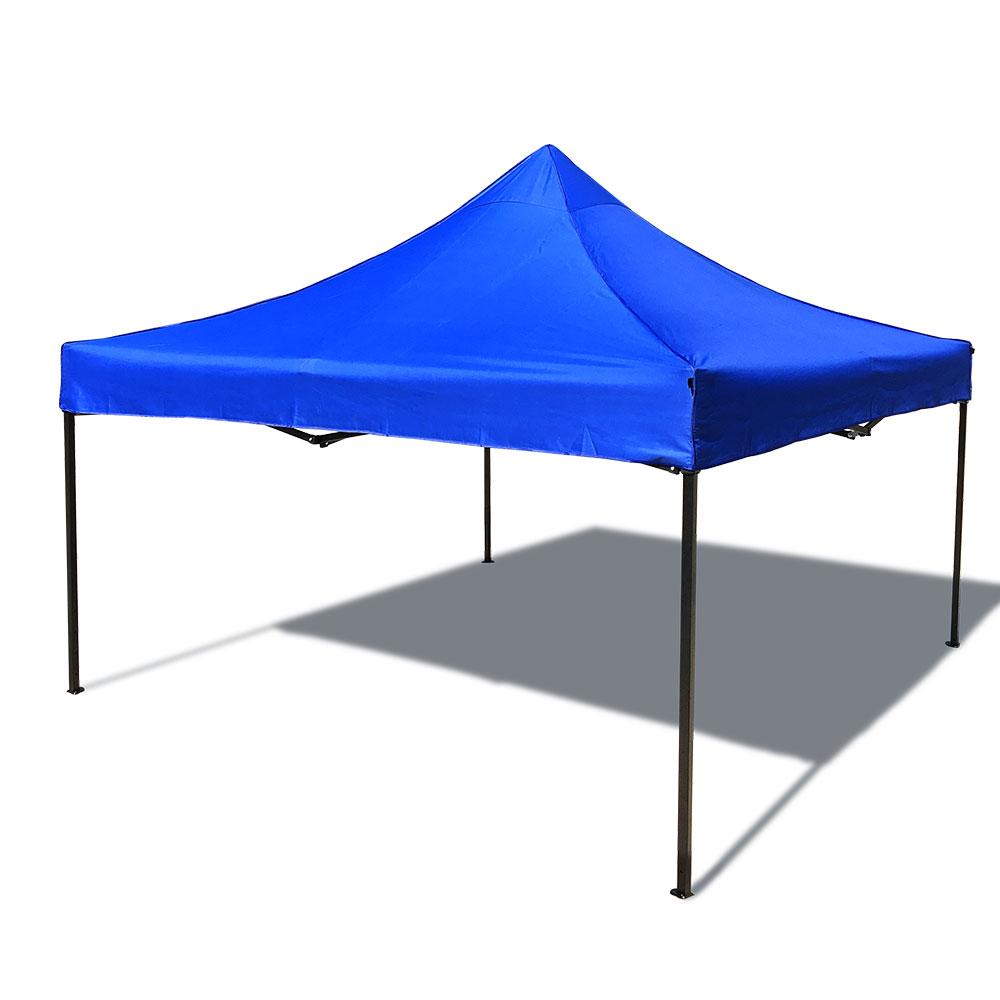 케이포캠프 일반형 캐노피 천막 3 x 3 m, 블루, 1개