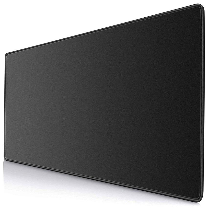 키보드 마우스 장패드 120 x 60 cm, 블랙, 1개