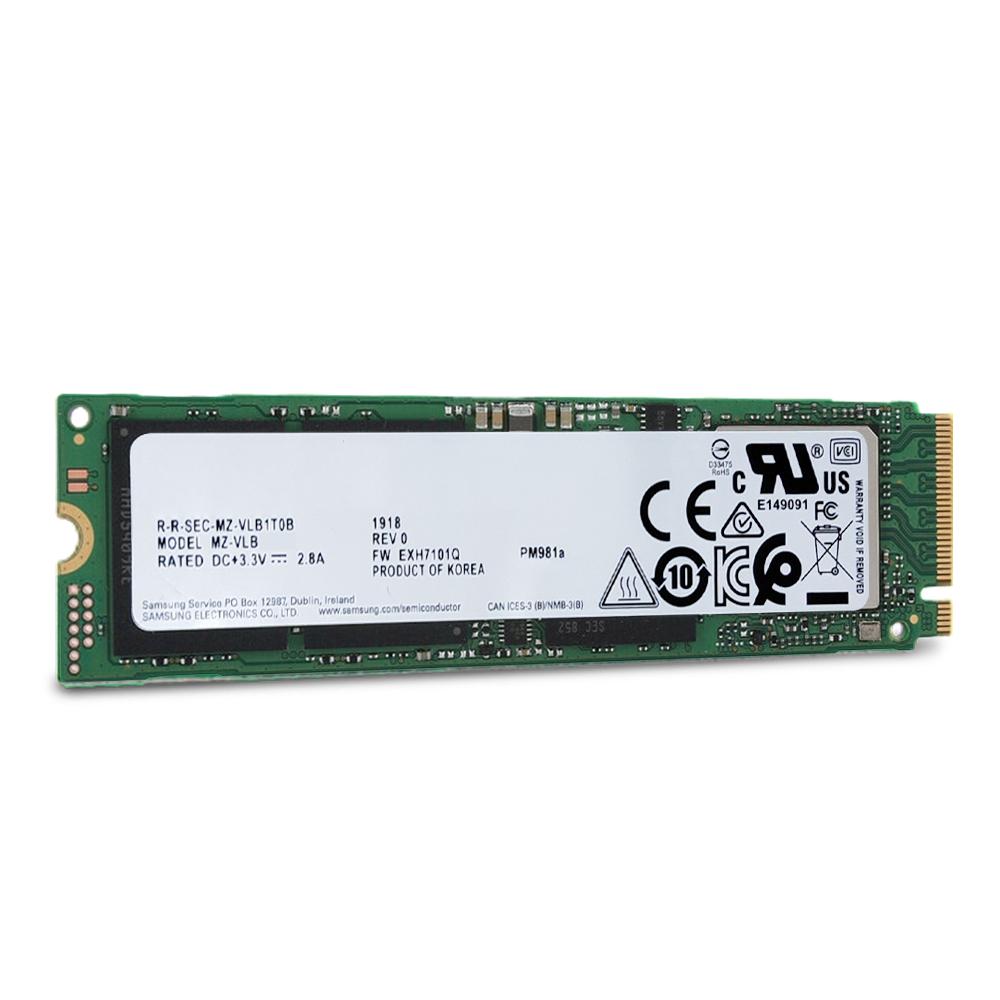 삼성전자 PM981a NVMe M.2 2280 SSD, MZ-VLB1T0B, 1TB