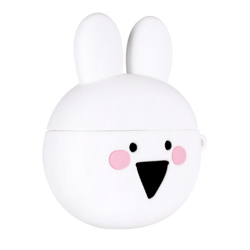 오버액션 토끼 에어팟 프로 실리콘 케이스, 단일상품, 혼합색상