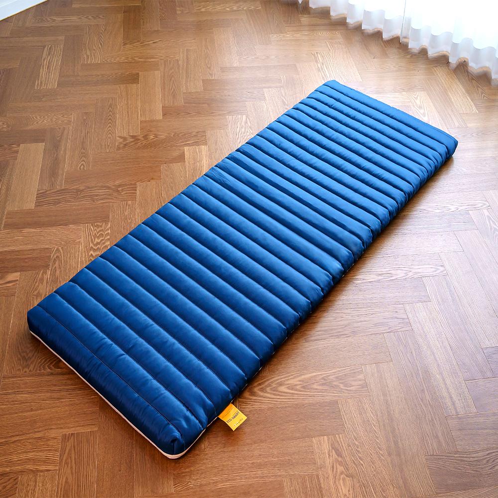 에코스마트 벨라 메모리폼 토퍼, 키네틱 블루