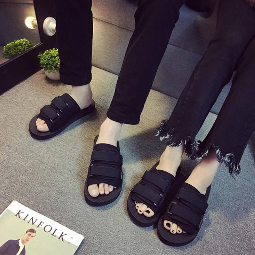 [신발] 초경량 벨크로 남녀 커플 여름 슬리퍼 - 랭킹80위 (7800원)
