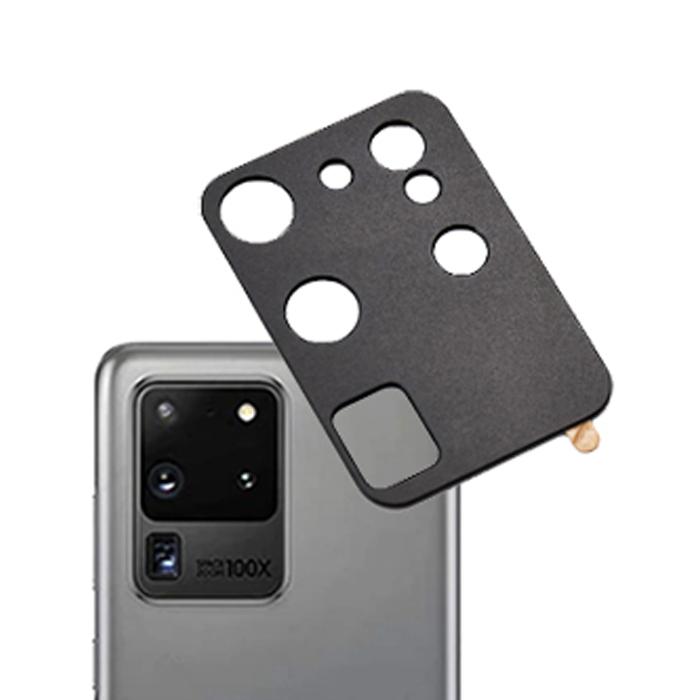 퀵핀 메탈 풀커버 카메라 렌즈 보호필름, 1개