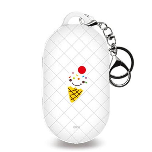 미니모리 모던 디자인 갤럭시 버즈 / 플러스 케이스 + 키링, 단일상품, 편의점 아이스크림