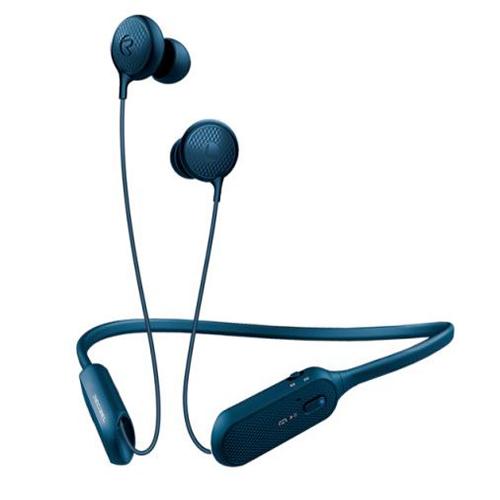 블루콤 데시벨 넥밴드 와이어 초경량 블루투스 이어폰, BCS-A1, 블루