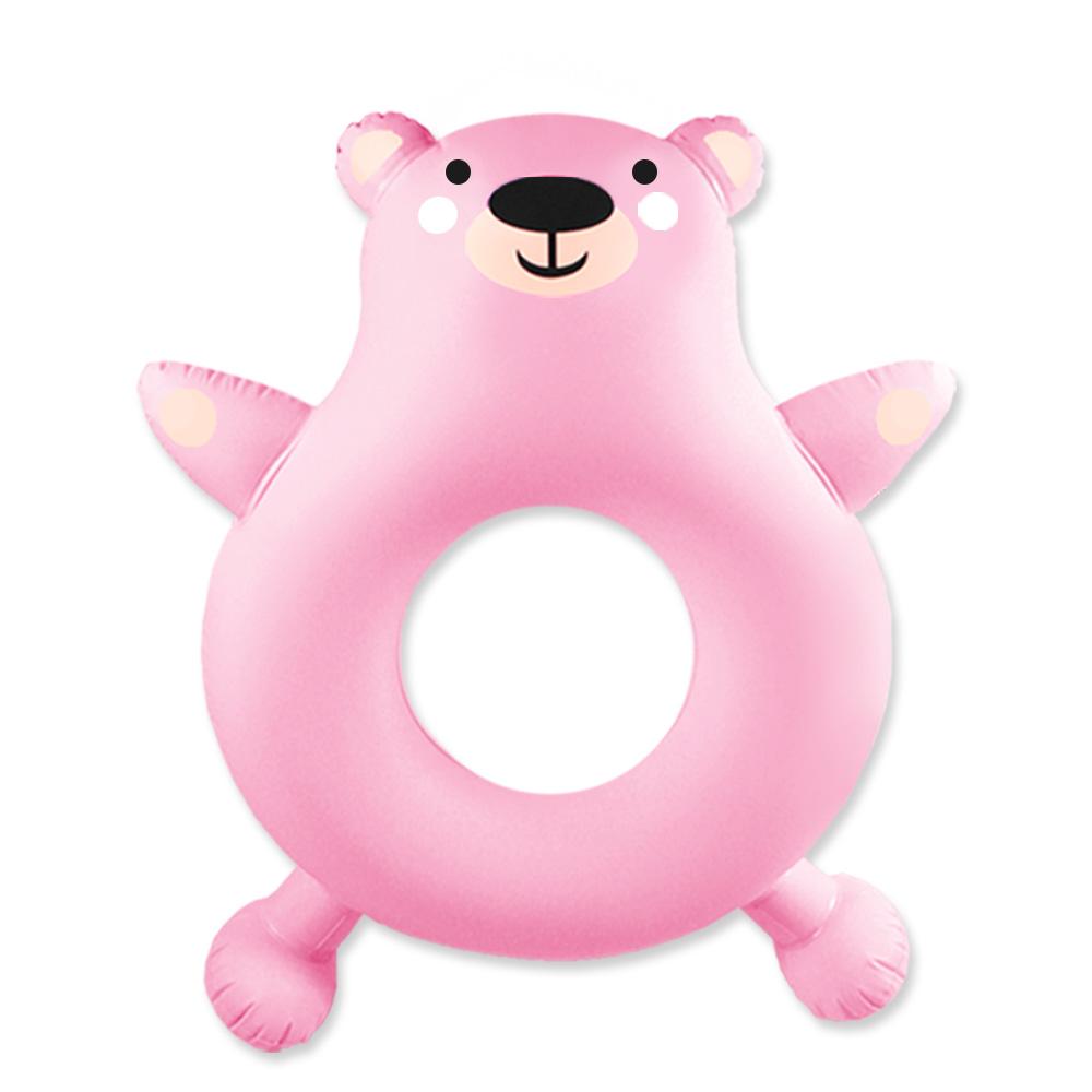 bayb 아동 곰돌이 튜브, 핑크, 1개
