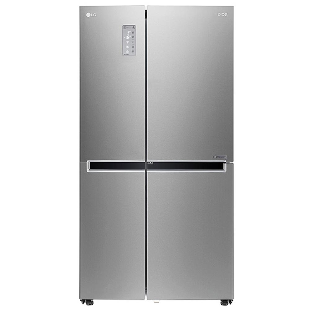 디오스 매직 스페이스 양문형 냉장고 S831SS30Q 821L 방문설치 실버메탈 샤이니퓨어