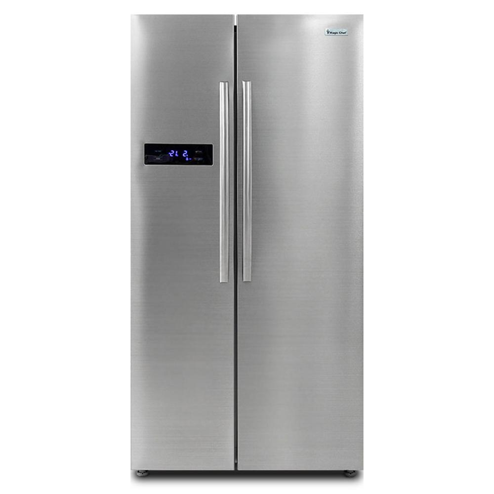 매직쉐프 양문형 냉장고 MESR-M689S 512L 방문설치