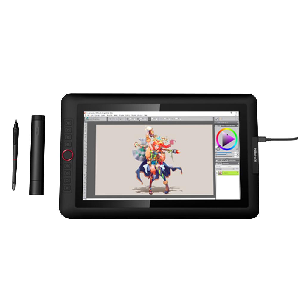 XP-PEN ARTIST 15.6 PRO 액정 타블렛 443 x 280 x 12.6 mm, 단일상품, 블랙 + 레드다이얼