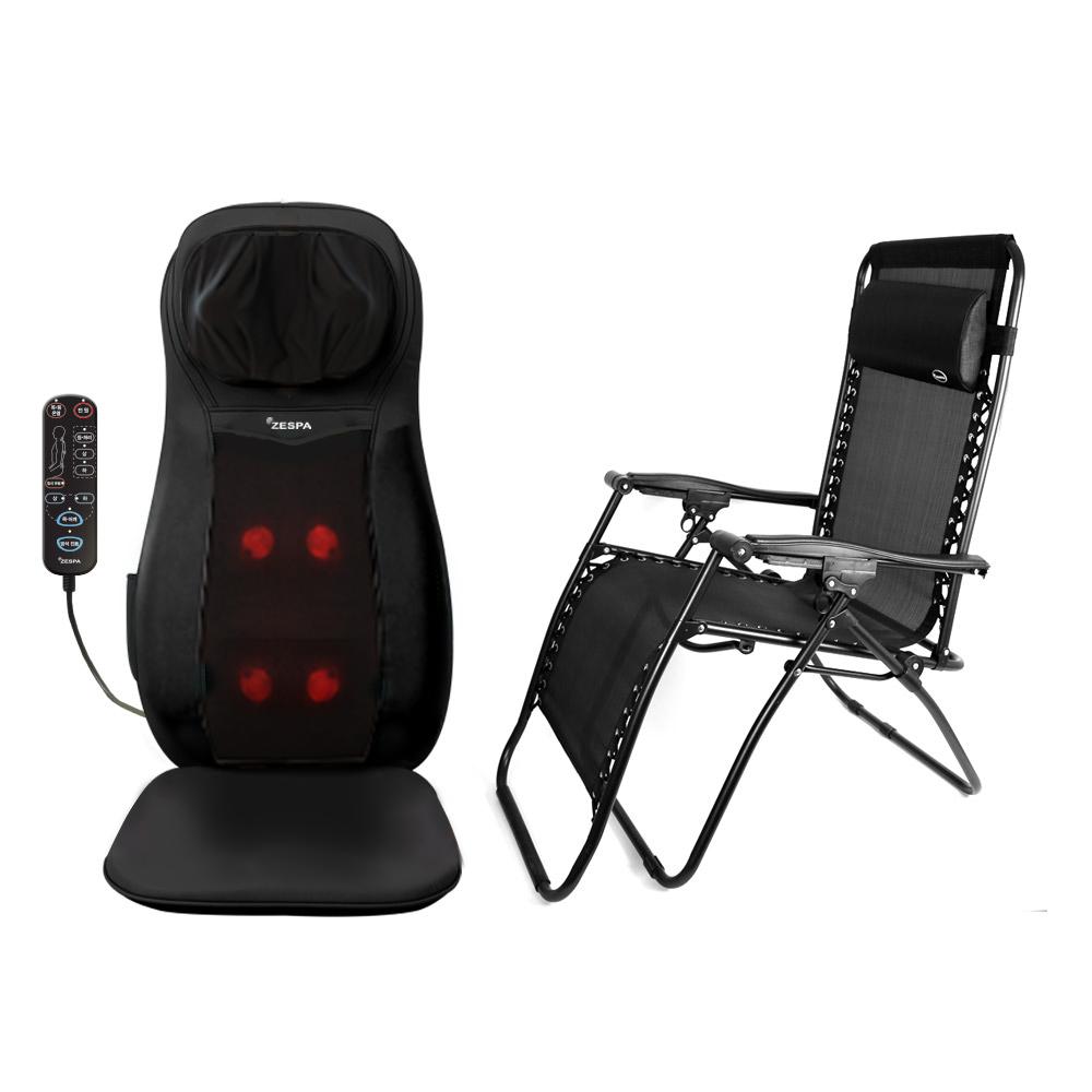 제스파 파워 바디 밸런스 의자형 안마기 ZP745 + 인클라우드 의자 ZP798 세트, 안마기(ZP745), 의자(ZP798)