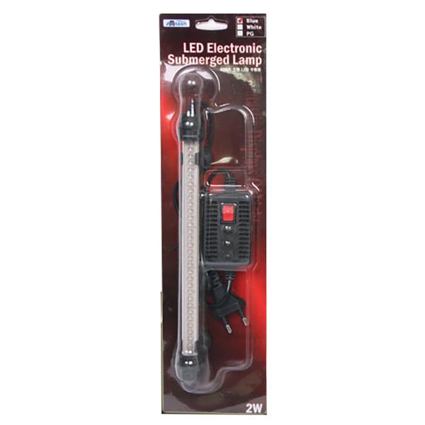 아마존 LED 수중등 화이트 2W, 1개