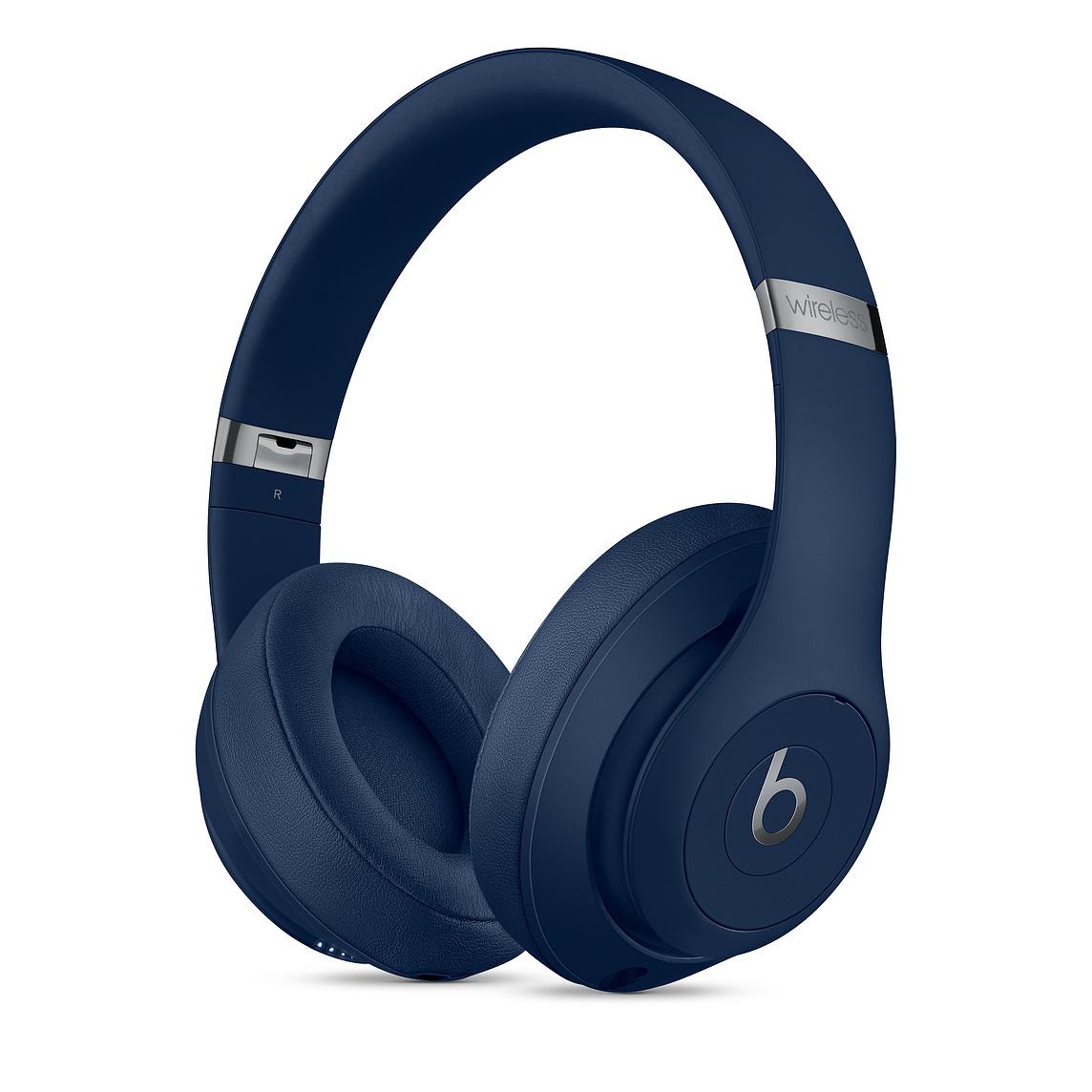 Apple Beats Studio3 무선 오버이어 헤드폰, 블루, MX402PA/A