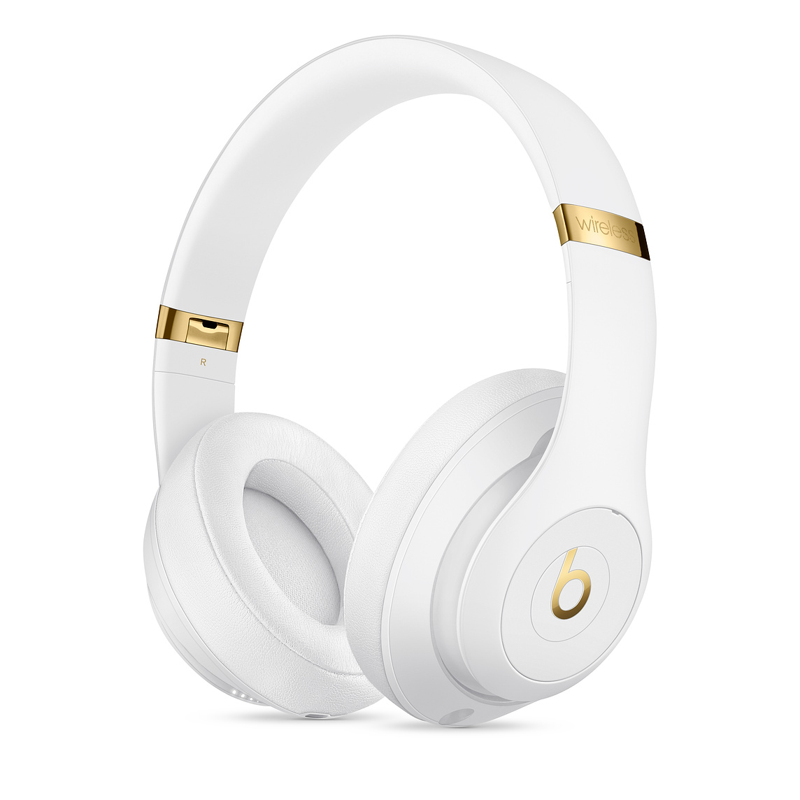Apple Beats Studio3 무선 오버이어 헤드폰, 화이트, MX3Y2PA/A