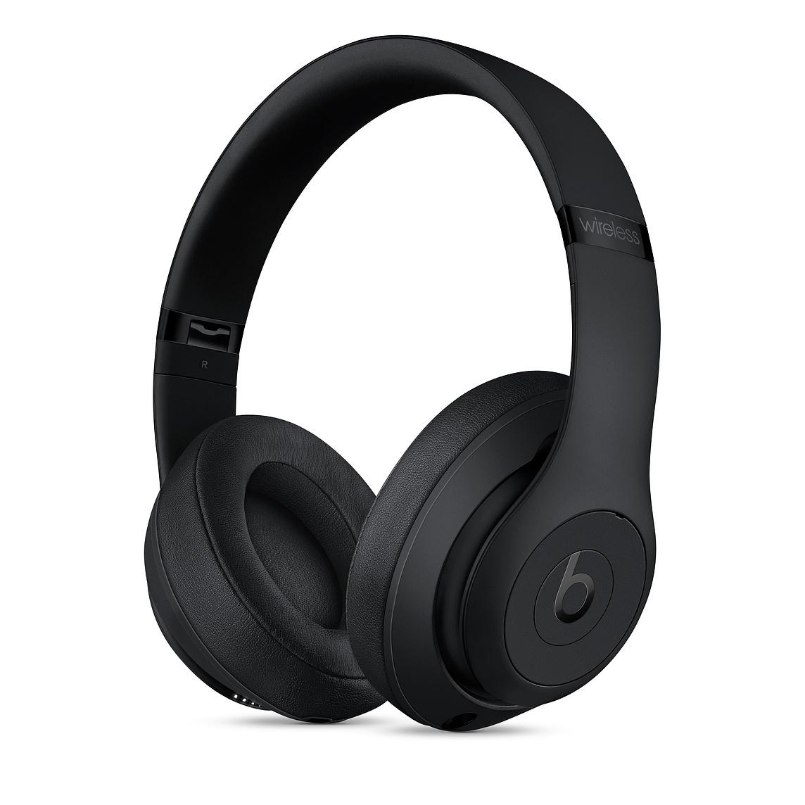 Apple Beats Studio3 무선 오버이어 헤드폰, 매트 블랙, MX3X2PA/A
