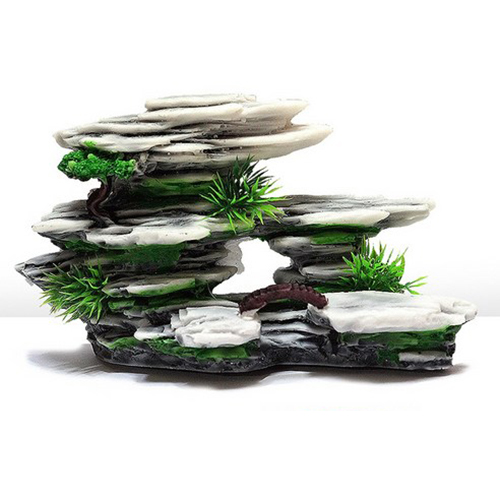 도핀 인공 괴암석 어항 장식품 175B, 1개