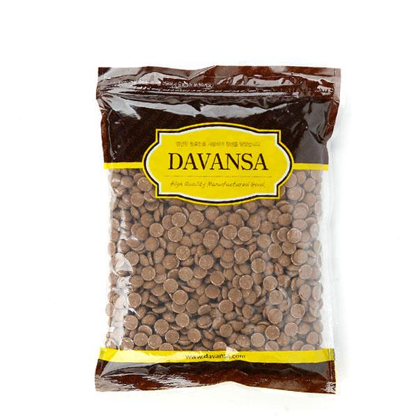 칼리바우트 커버춰 밀크 초콜릿, 1개, 1kg