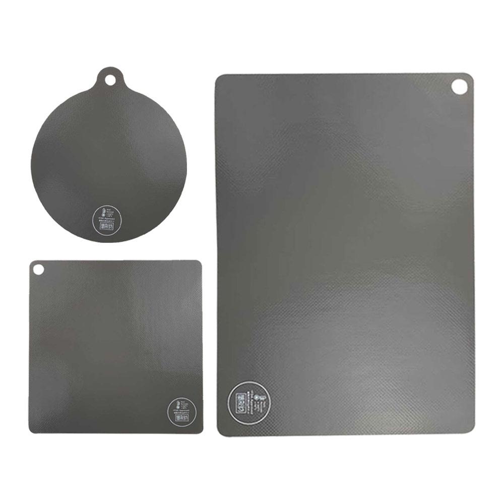모아모아요 인덕션 전용 보호매트 3종 세트, 단일 색상, 1세트