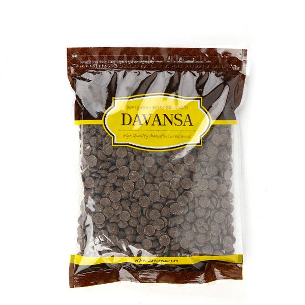 칼리바우트 커버춰 다크 초콜릿, 1개, 1kg