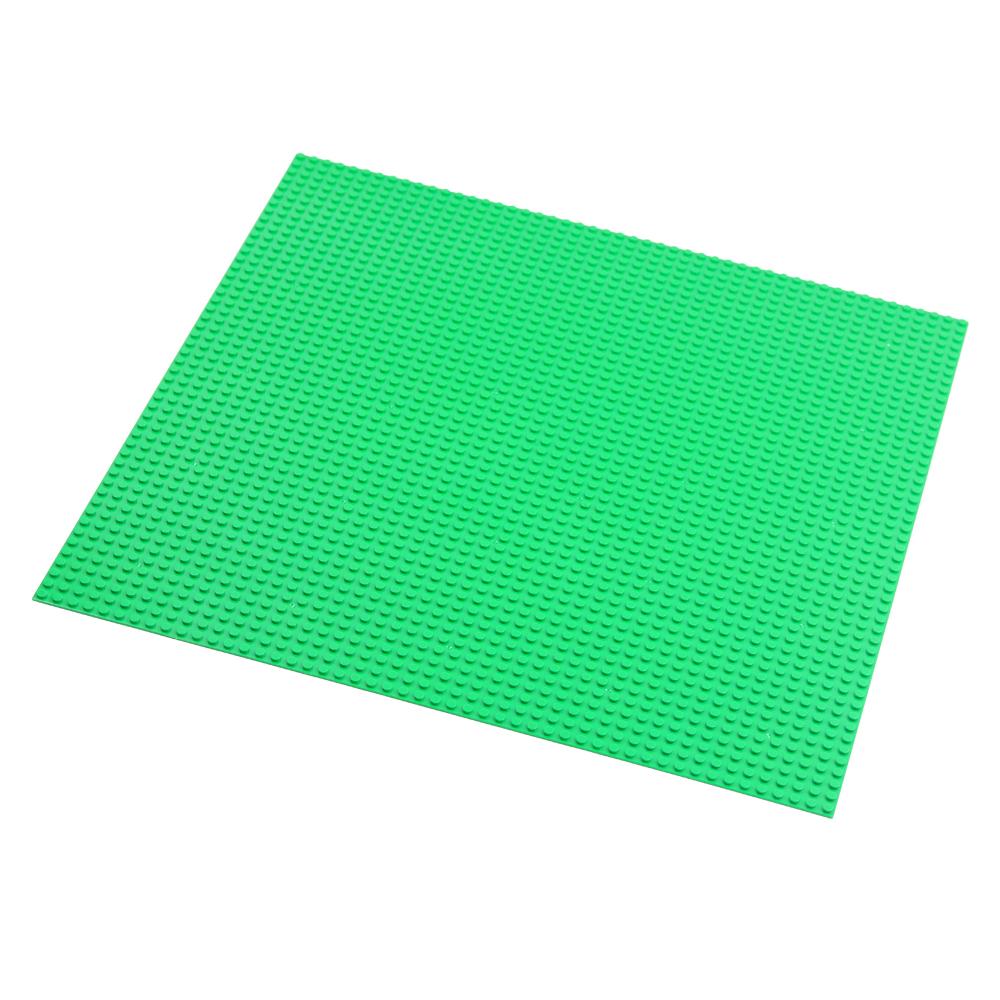 브릭쿨 블록 대형 놀이판 클래식 50 x 50, 초록