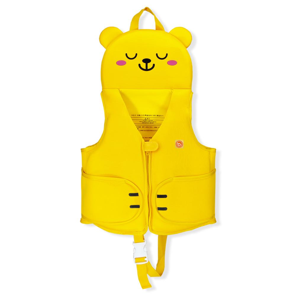 bayb 유아동 허그미 스윔자켓 수영조끼, 옐로베어-23-1494770660